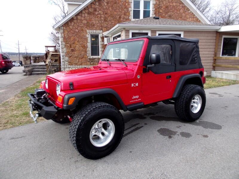 Jeep Wrangler X 2005