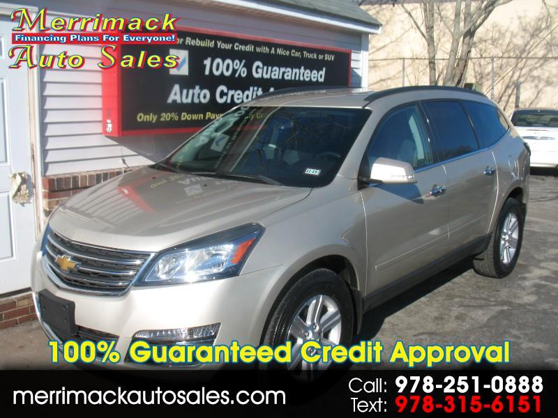 2013 Chevrolet Traverse 3RD ROW SEATING