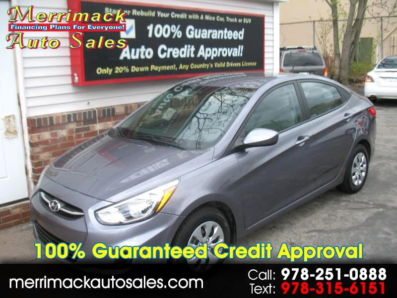 2017 Hyundai Accent SE GAS SAVER