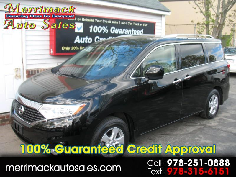 2015 Nissan Quest LOW MILES LEATHER