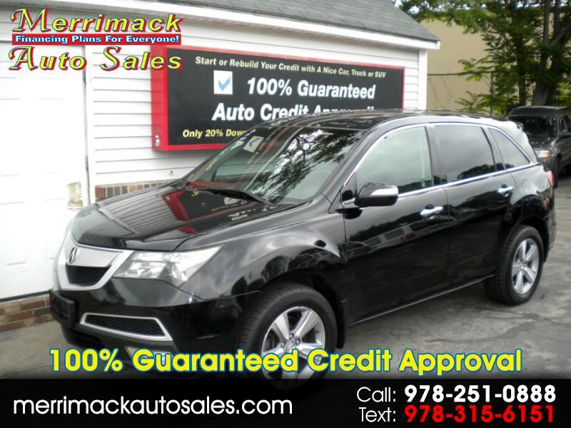 2012 Acura MDX LEATHER MOON ROOF