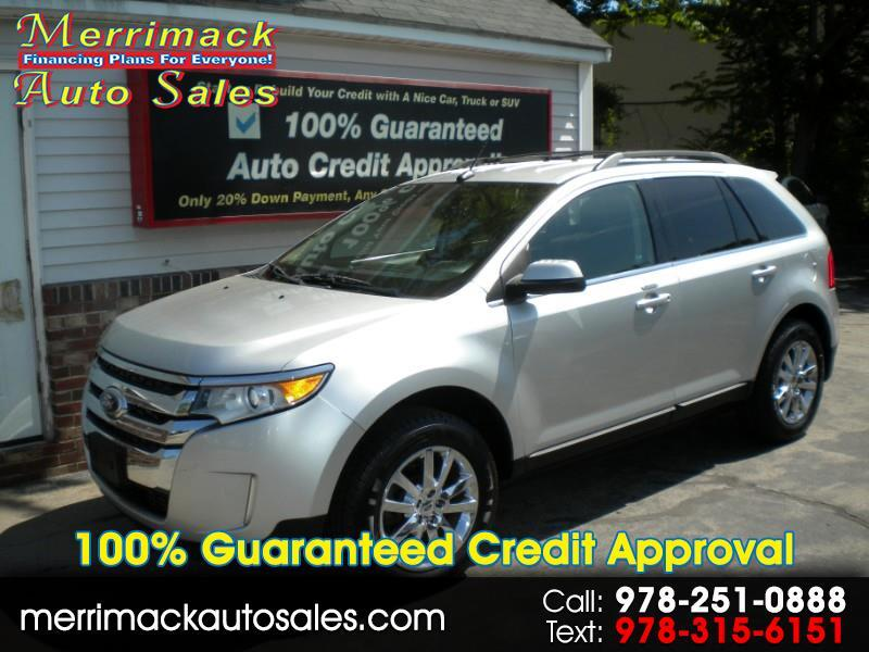 2011 Ford Edge LIMITED NAV LEATHER