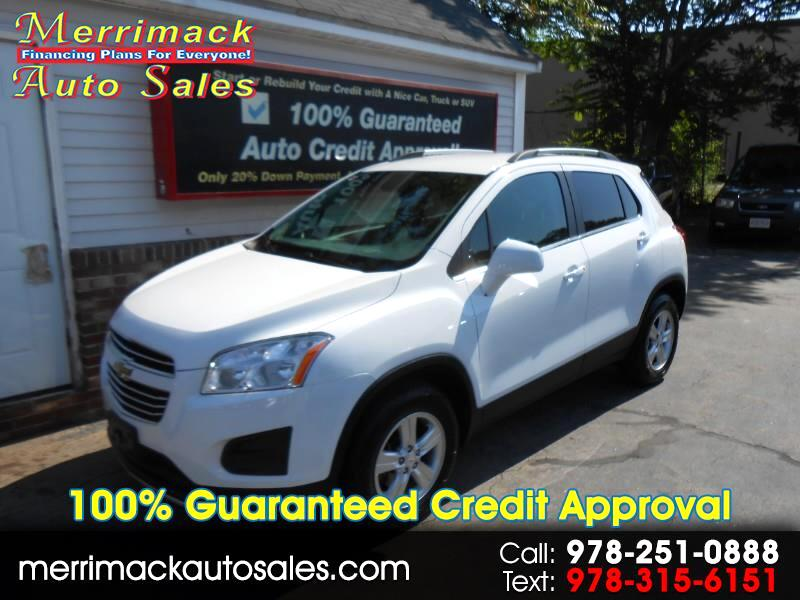 2015 Chevrolet Trax LOW MILES AWD