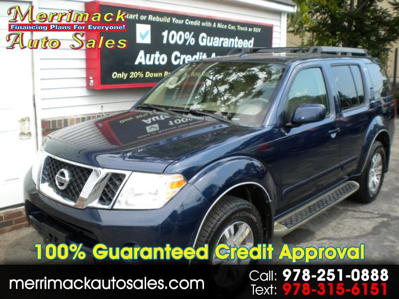 2010 Nissan Pathfinder ONE OWNER LOW MILES