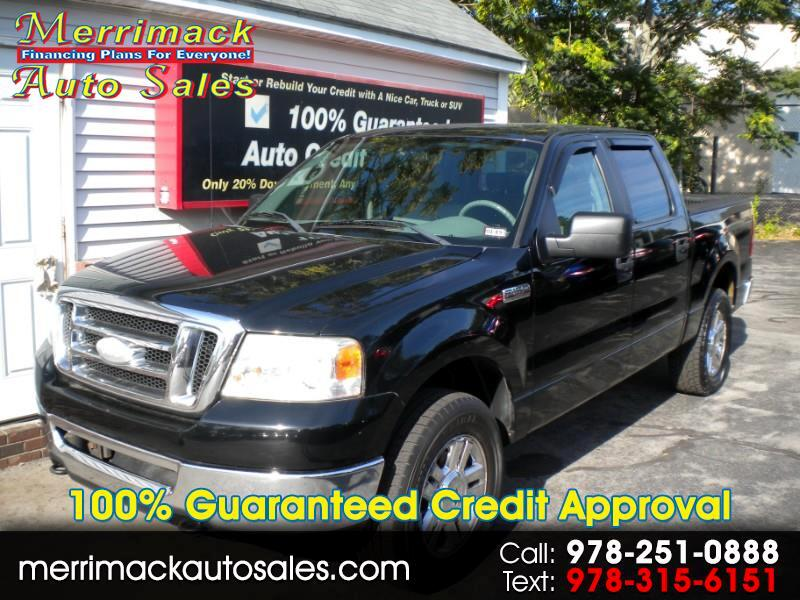 2008 Ford F-150 SUPER CREW 4WD