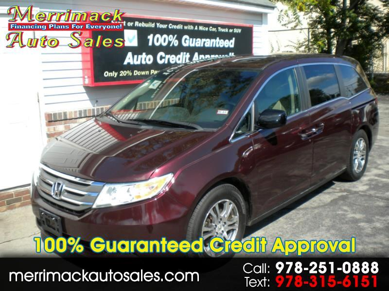 2012 Honda Odyssey EXL DVD LEATHER