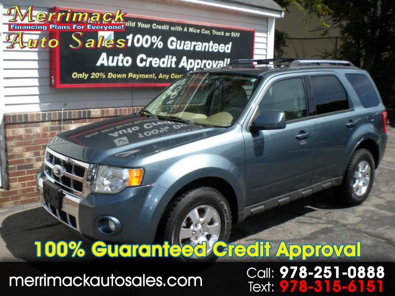 2012 Ford Escape LIMITED LEATHER