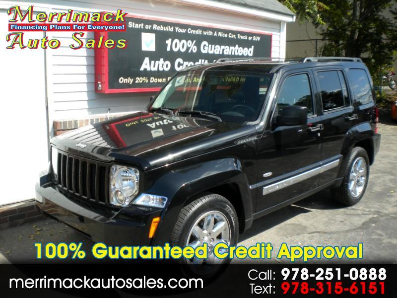 2012 Jeep Liberty LEATHER 4WD