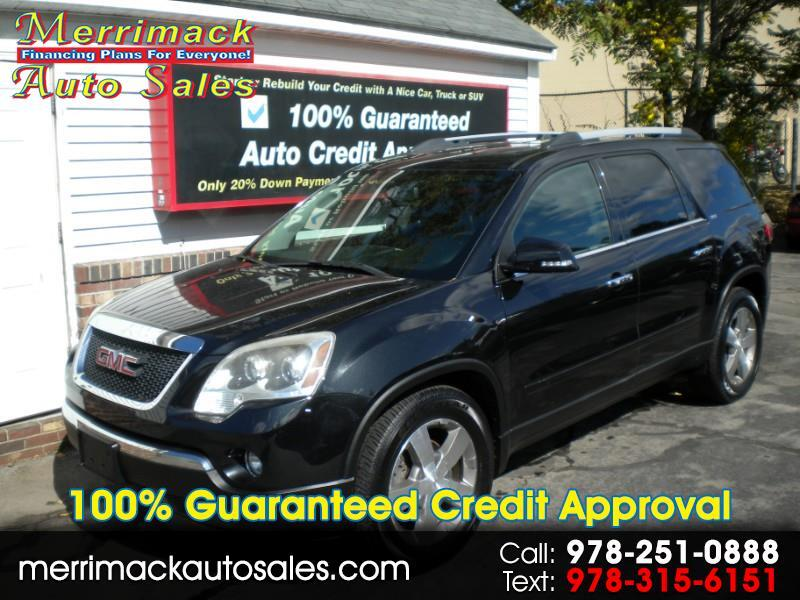 2012 GMC Acadia ONE OWNER LEATHER