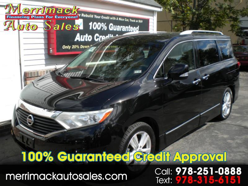 2012 Nissan Quest LEATHER NAV
