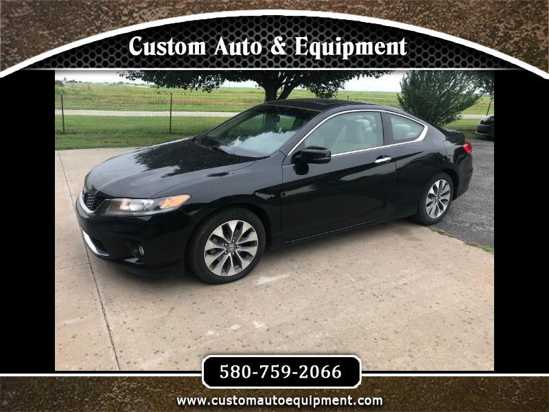 2013 Honda Accord EX Coupe CVT for sale VIN: 1HGCT1B7XDA002649