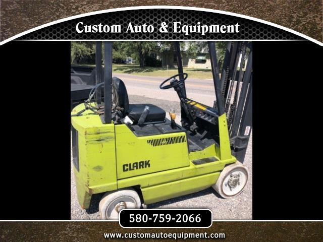 1992 Clark Pneumatic Tire Forklift GCX20