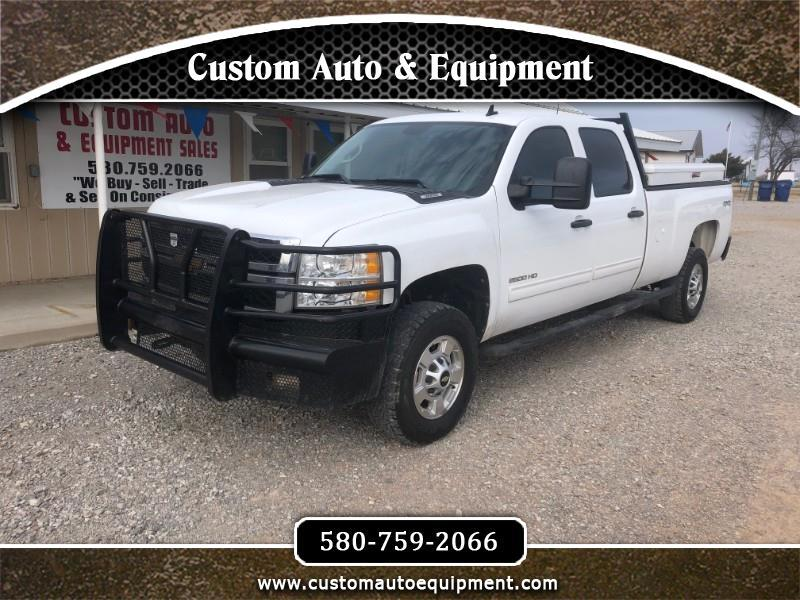 2012 Chevrolet Silverado 2500HD LT Crew Cab Long Box 4WD