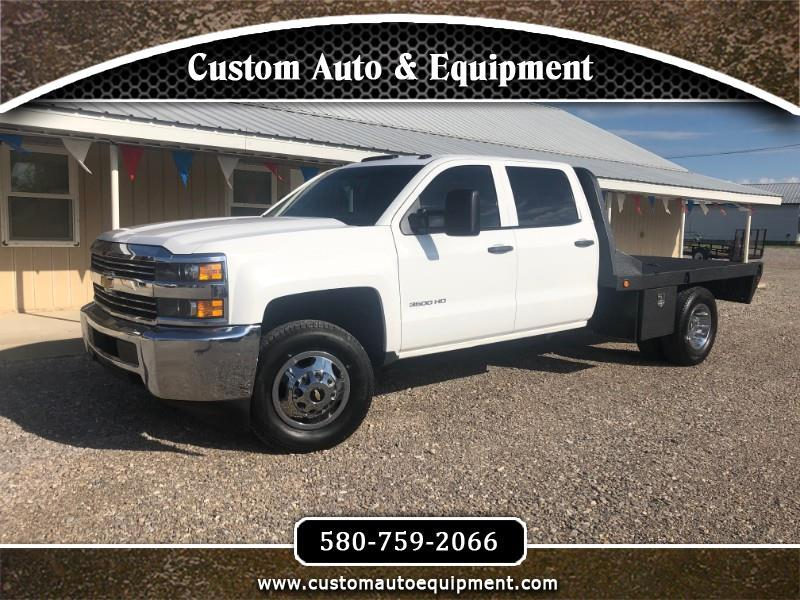 2015 Chevrolet Silverado 3500HD Work Truck Crew Cab Long Box 4WD
