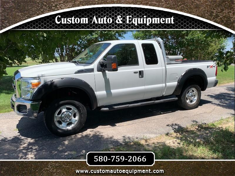2011 Ford F-250 SD XLT SuperCab 4WD