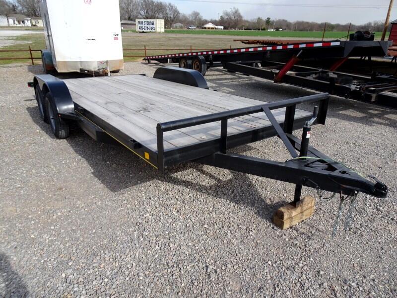 Car Hauler Full Wood Deck  2020