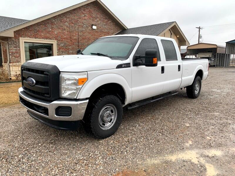 Ford F-250 SD XL Crew Cab Long Bed 4WD 2016