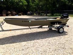 2014 Boat Trailer Boat