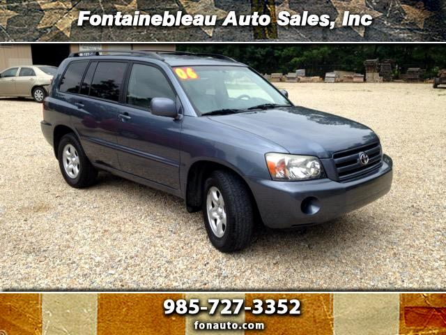 2006 Toyota Highlander Base 2WD V6
