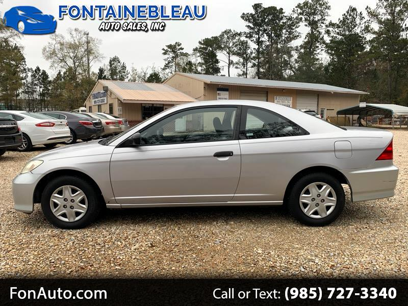 2005 Honda Civic 2dr Cpe VP Auto