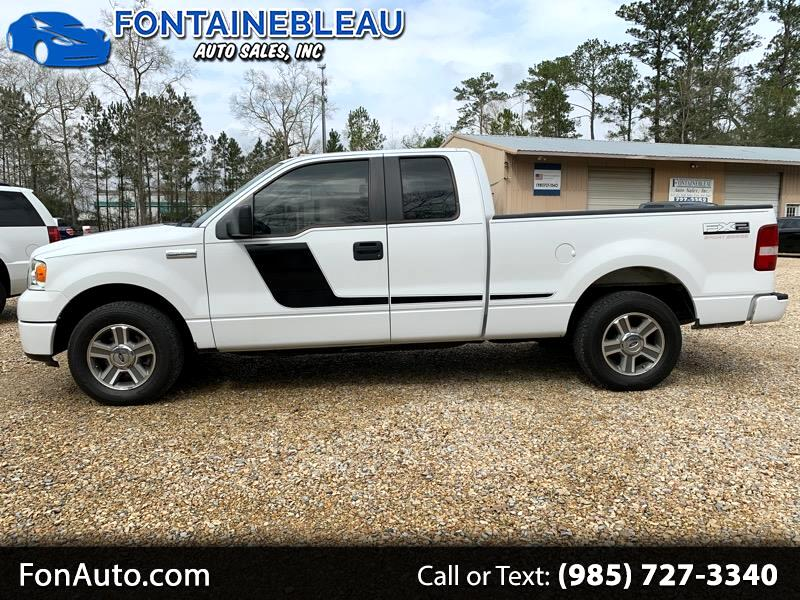 """2008 Ford F-150 2WD Supercab 133"""" FX2"""