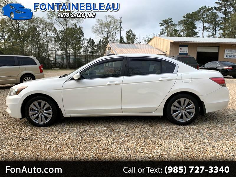 2012 Honda Accord EX-L Sedan AT with Navigation and XM Radio