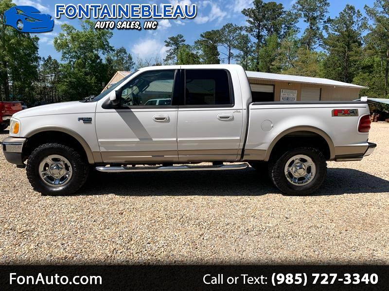 """2003 Ford F-150 SuperCrew 139"""" FX4 4WD"""