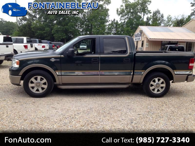 """2006 Ford F-150 2WD SuperCrew 145"""" King Ranch"""