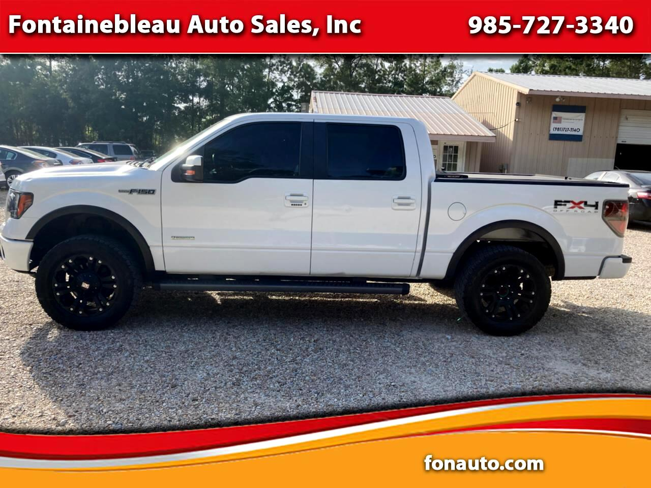 """Ford F-150 4WD SuperCab 145"""" FX4 2011"""