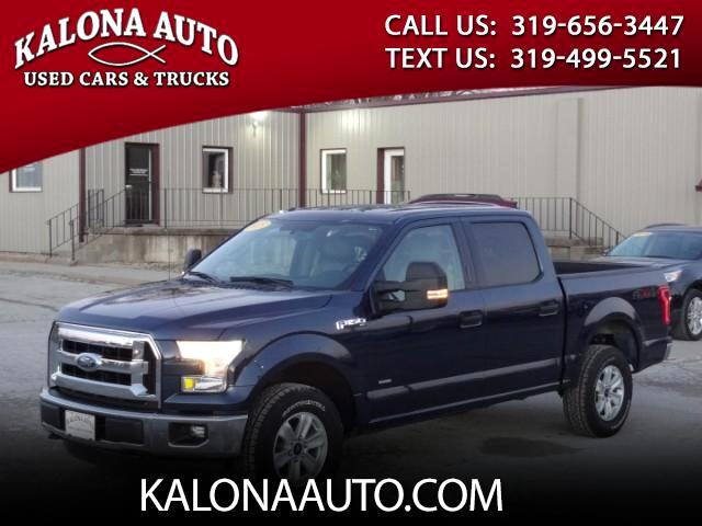 2015 Ford F-150 XLT SuperCrew 4WD