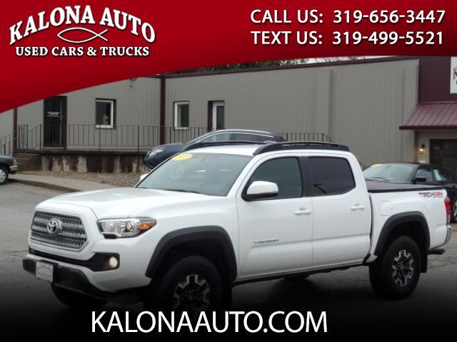 2017 Toyota Tacoma 4WD Double Cab LB V6 AT TRD Off Road (Natl)