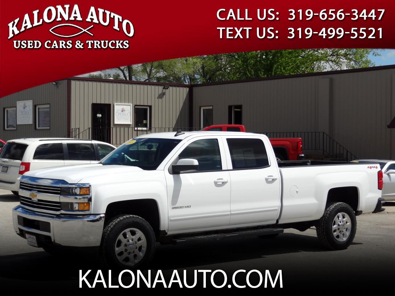 2015 Chevrolet Silverado 2500HD LT Crew Cab Long Bed 4WD