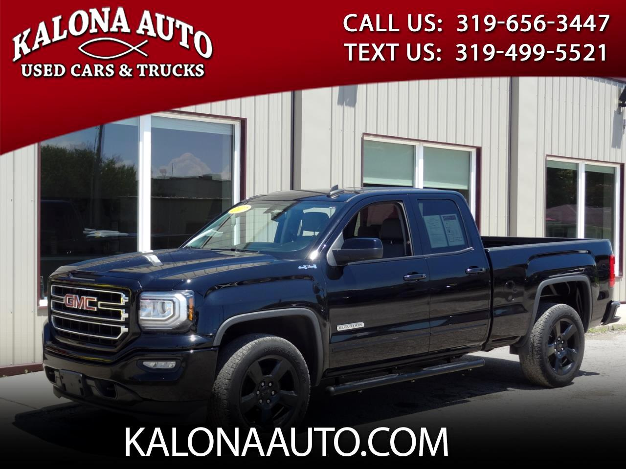 "2017 GMC Sierra 1500 4WD Double Cab 147"" Elevation"