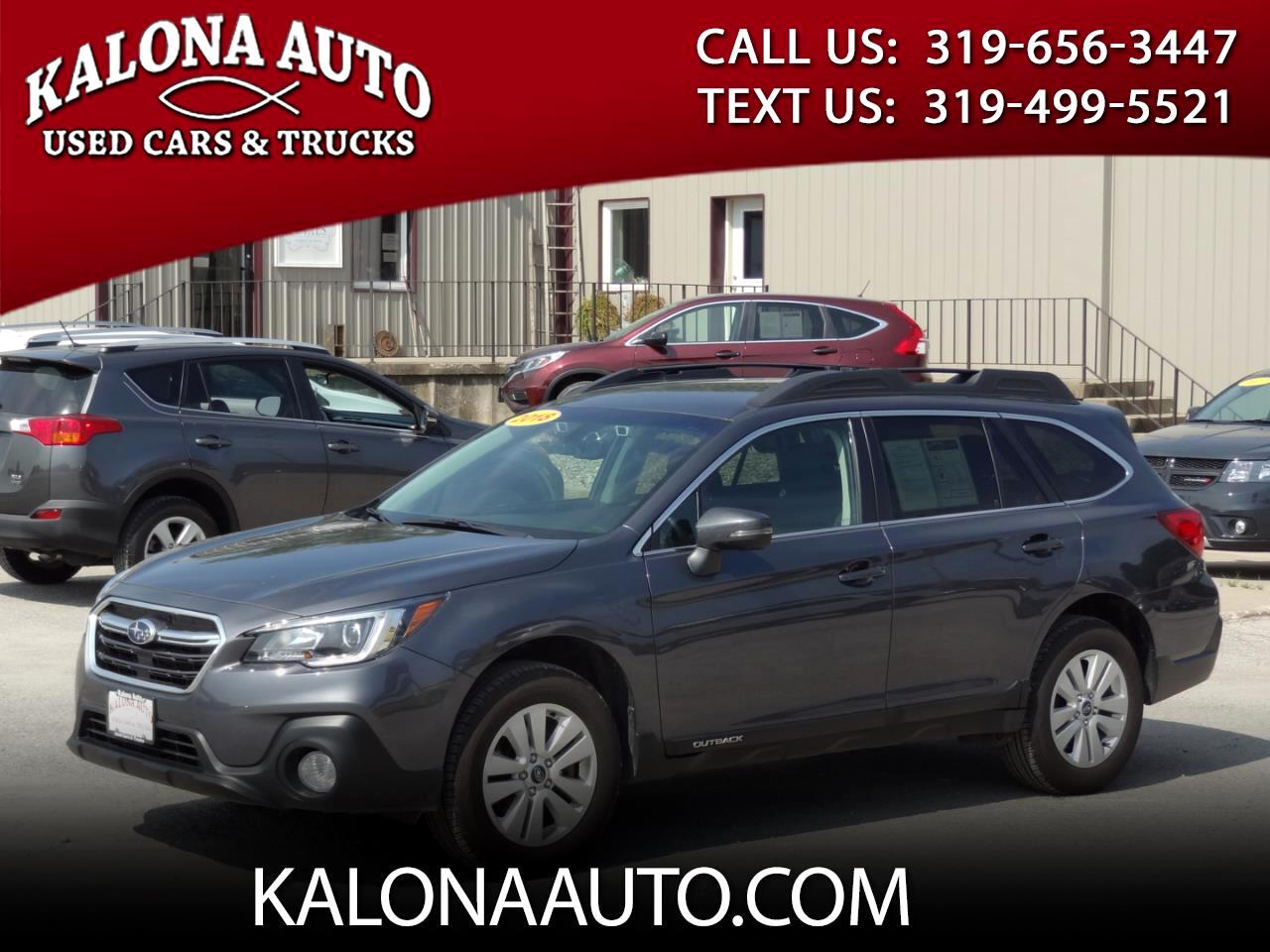 Used 2018 Subaru Outback 2 5i Premium for Sale in Kalona IA 52247