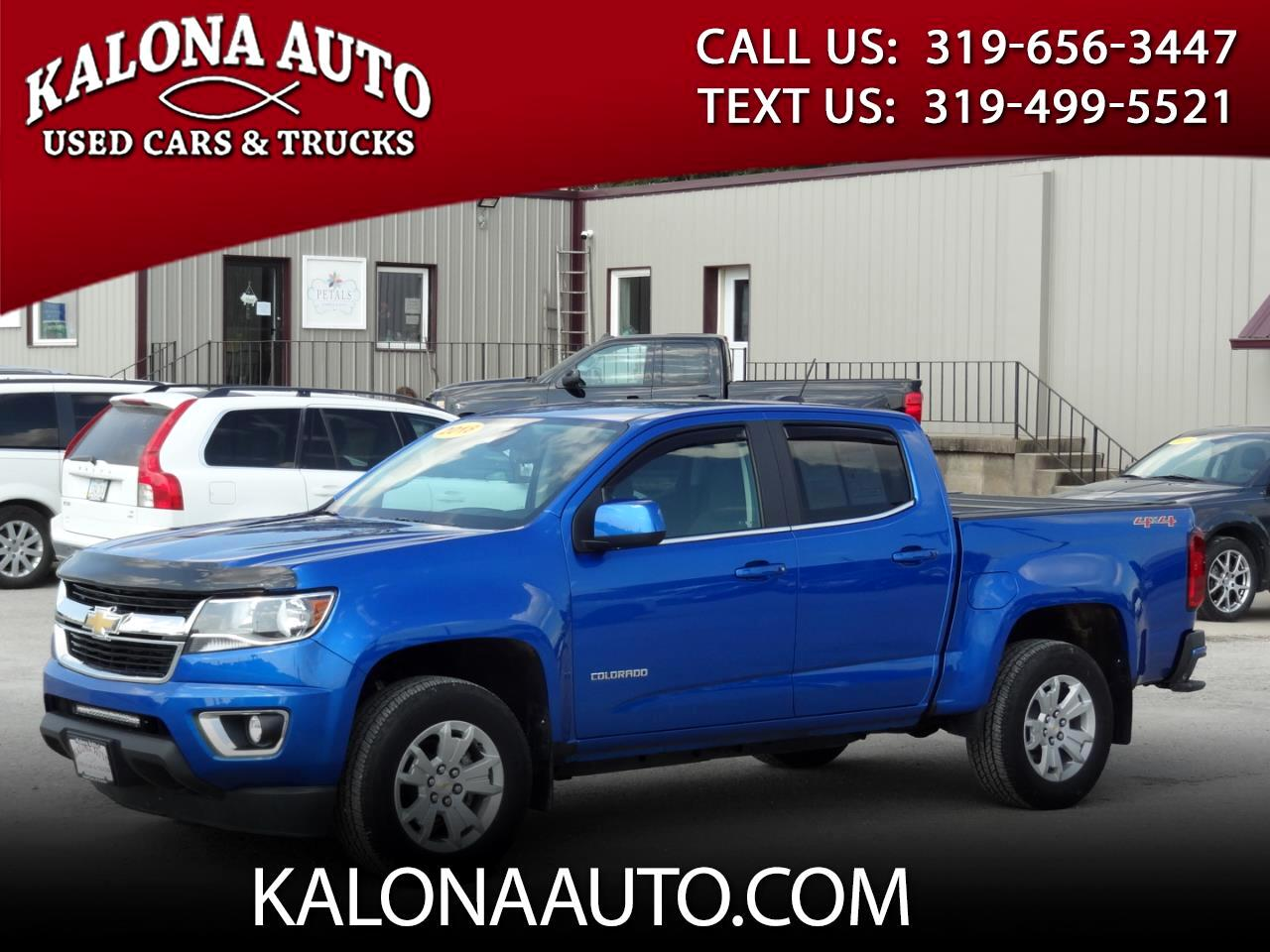 2018 Chevrolet Colorado 1LT Crew Cab 4WD