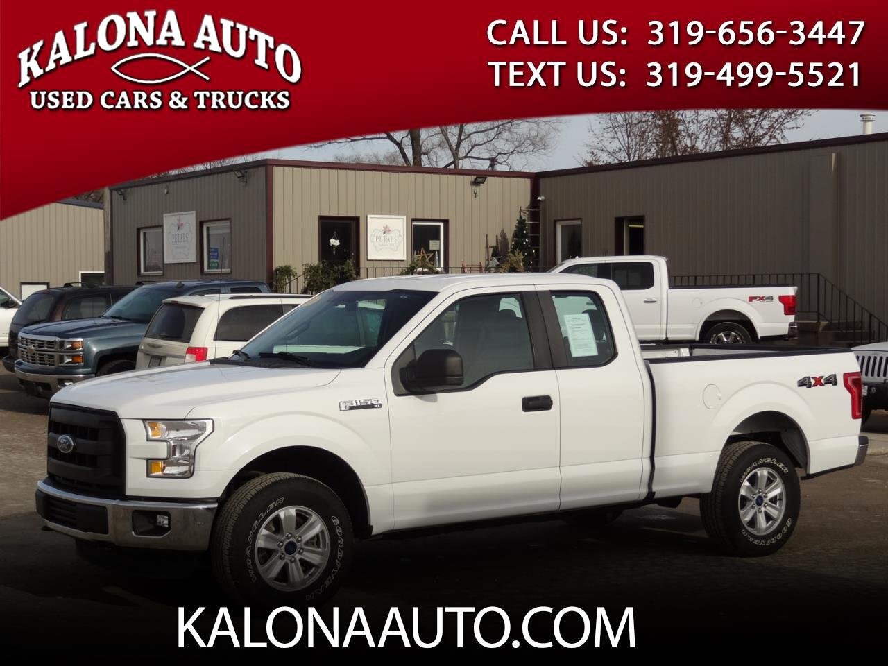 Ford F-150 XL SuperCab 4WD 2016
