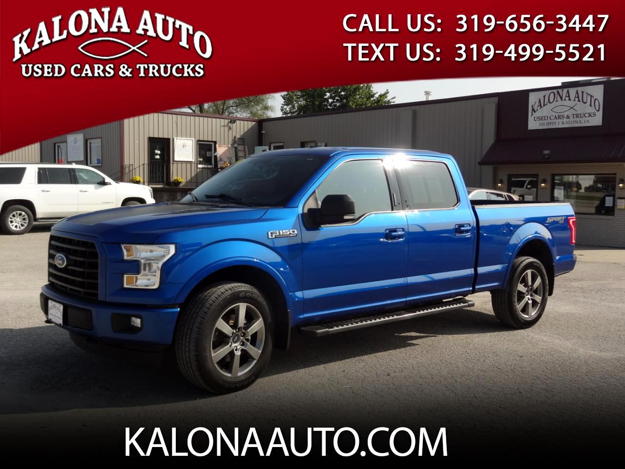 Ford F-150 XLT SuperCrew 4WD 2017
