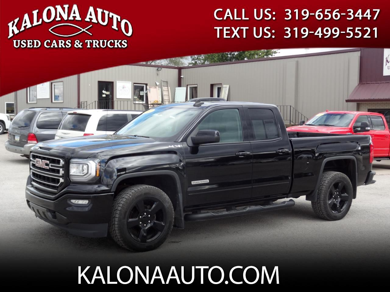 GMC Sierra 1500 Elevation Double Cab 4WD 2017