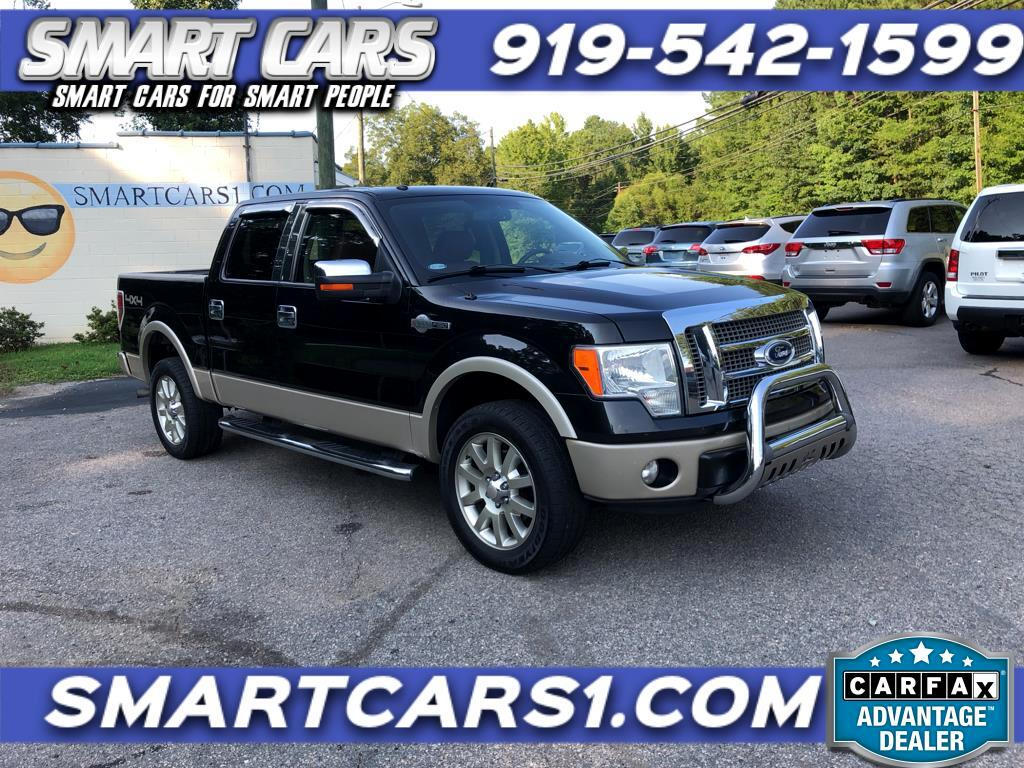 2010 Ford F-150 King Ranch Supercrew 4WD