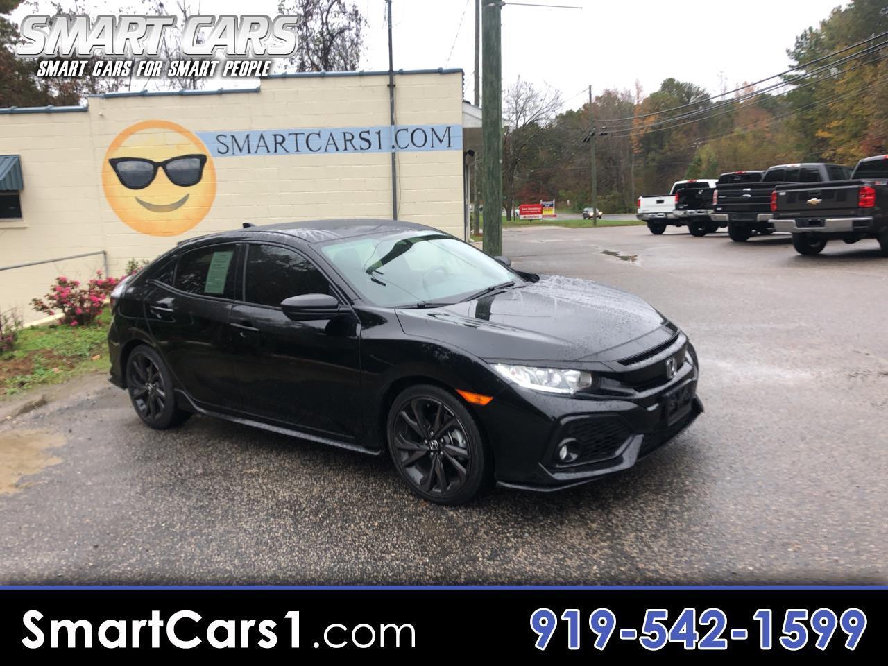 2018 Honda Civic Sport CVT