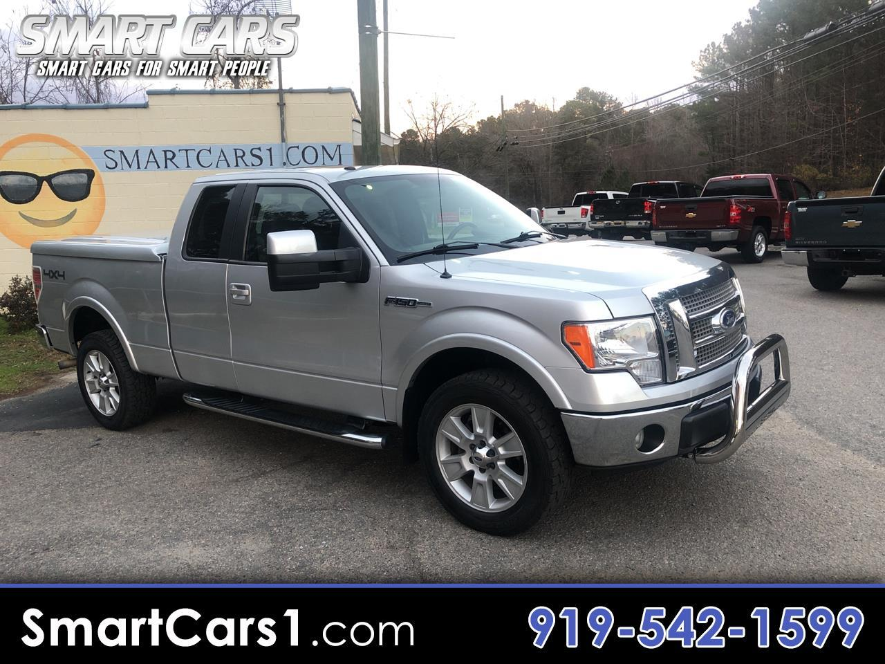 2010 Ford F-150 Lariat 4WD SuperCab 6.5' Box