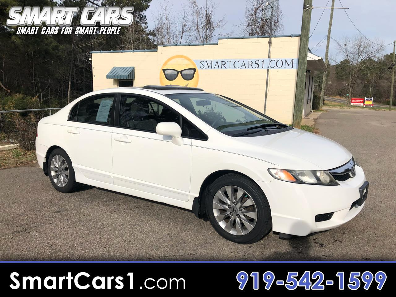 Used 2010 Honda Civic For Sale In Pittsboro Nc 27312 Smart Cars By