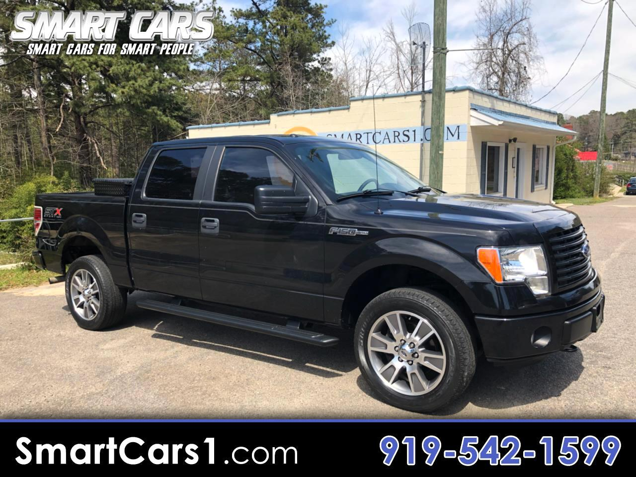 2014 Ford F-150 STX SuperCrew 6.5-ft Bed 4WD