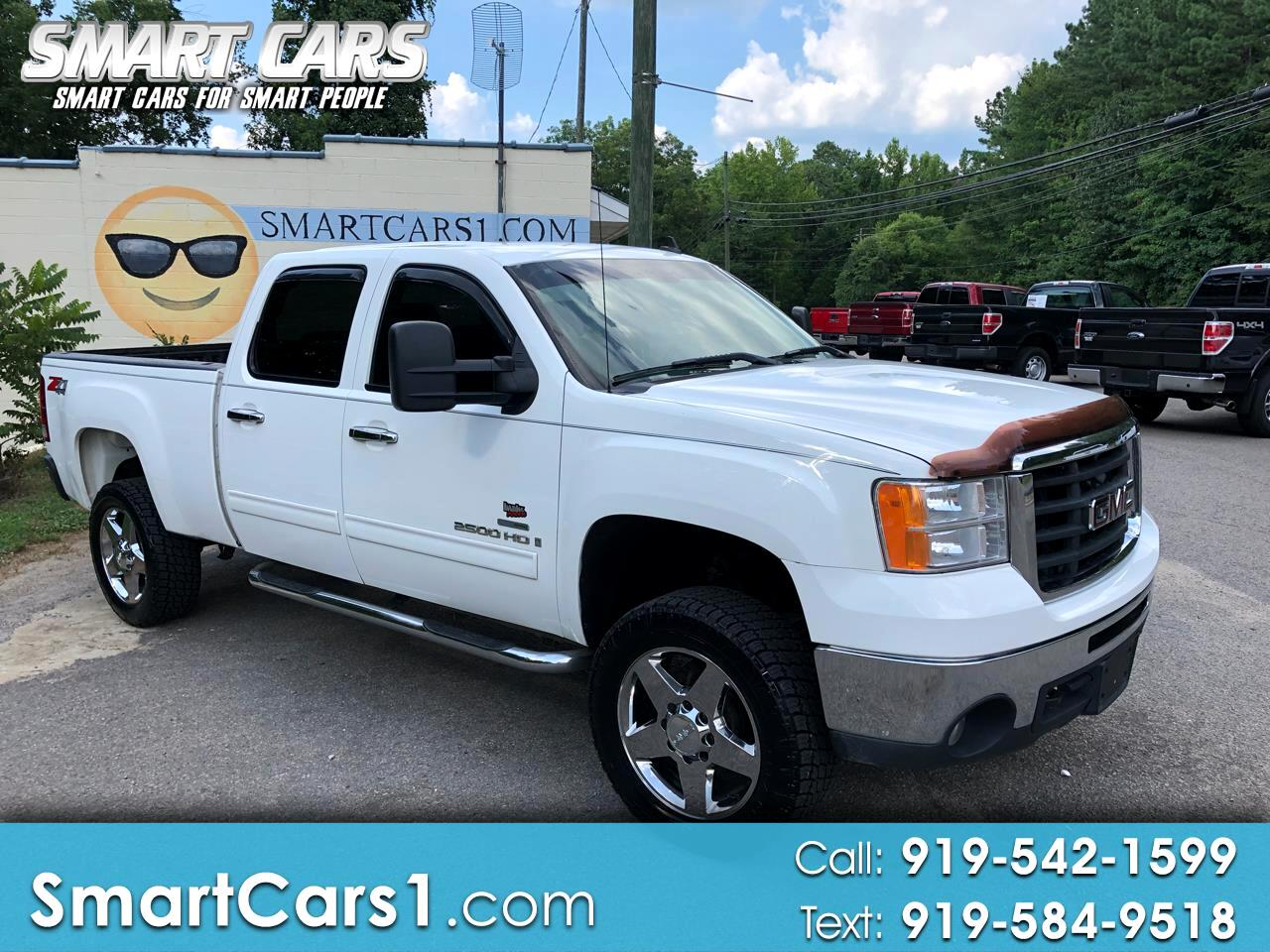 2007 GMC Sierra 2500HD SLT Crew Cab Long Box 4WD