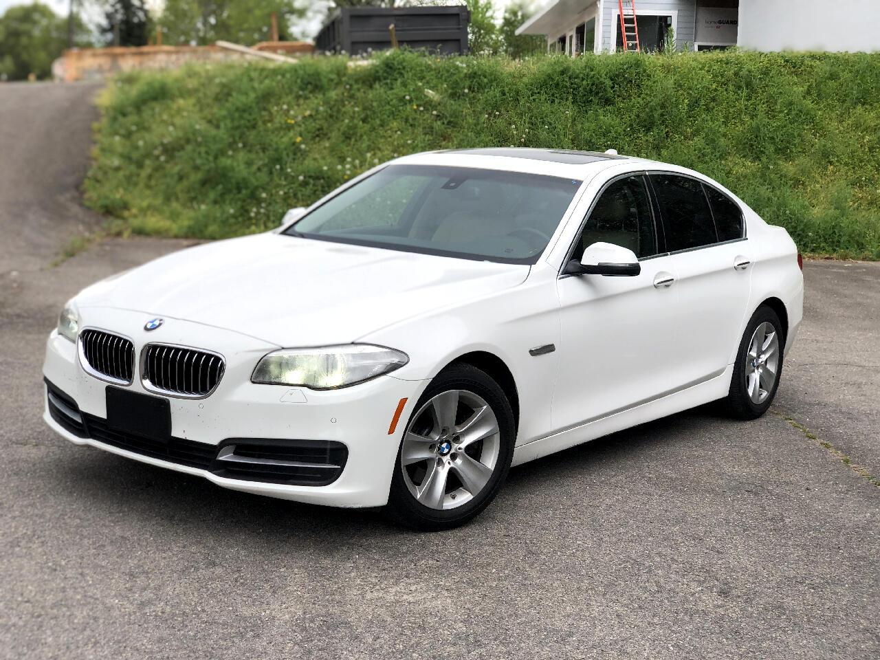 BMW 5 Series 4dr Sdn 528i RWD 2014