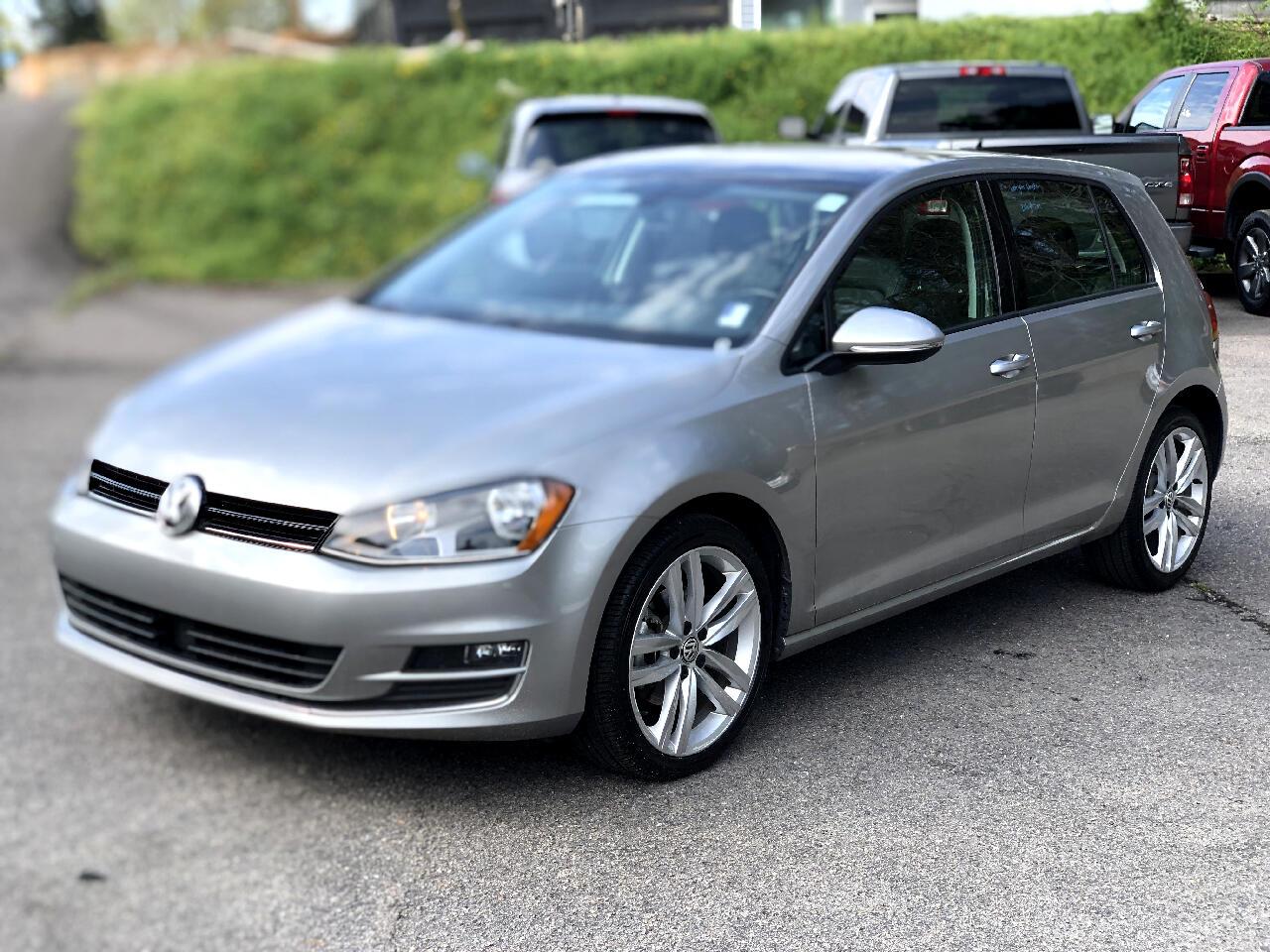 Volkswagen Golf 1.8T 4-Door SEL Auto 2017