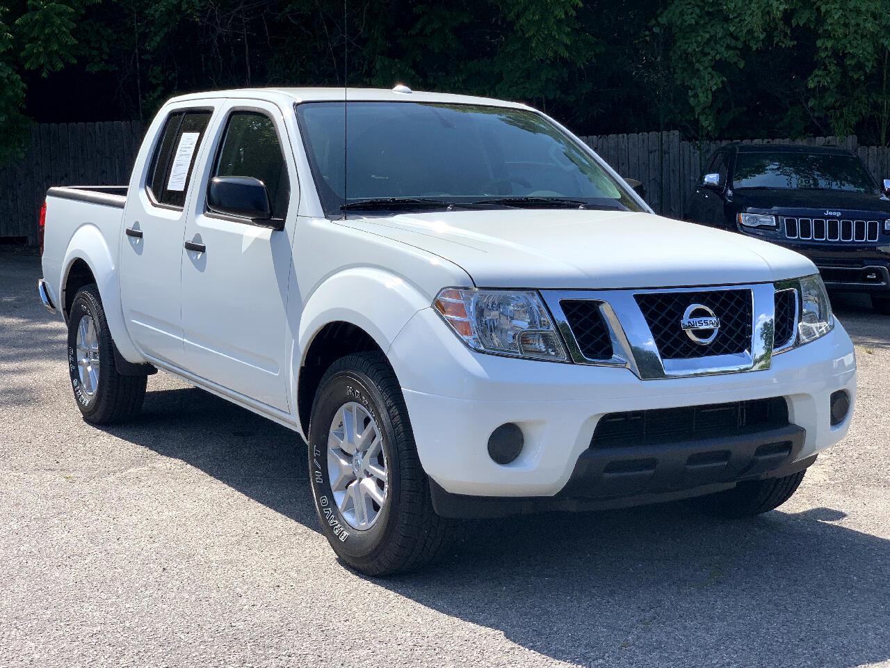 Nissan Frontier 2WD Crew Cab SWB Auto SV 2016