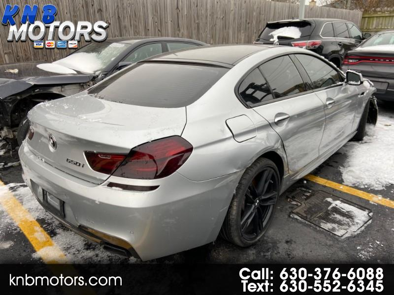 BMW 6-Series Gran Coupe 650i 2015