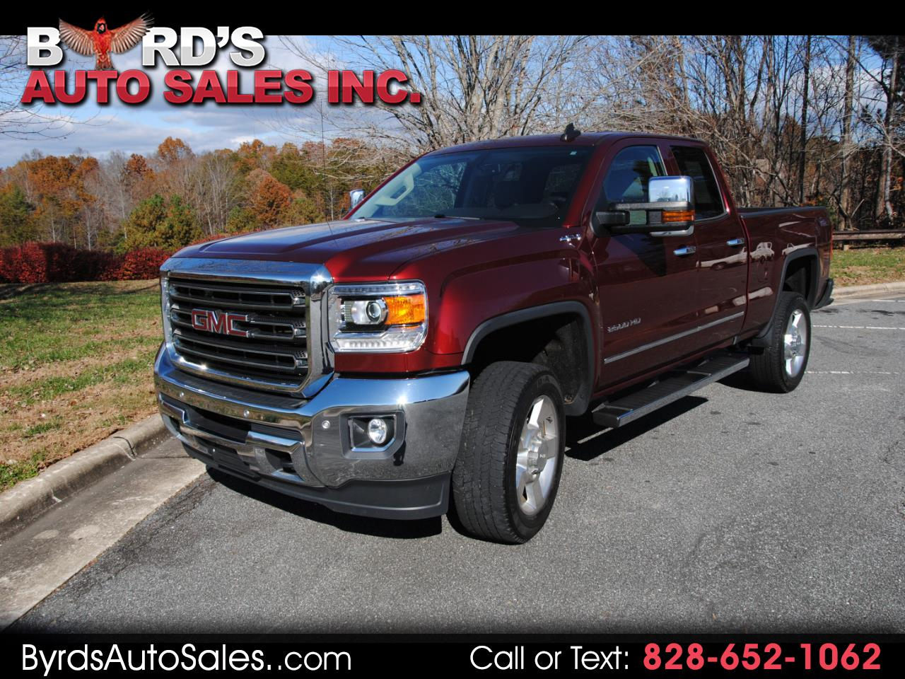 2016 GMC Sierra 2500HD 4WD Double Cab 144.2