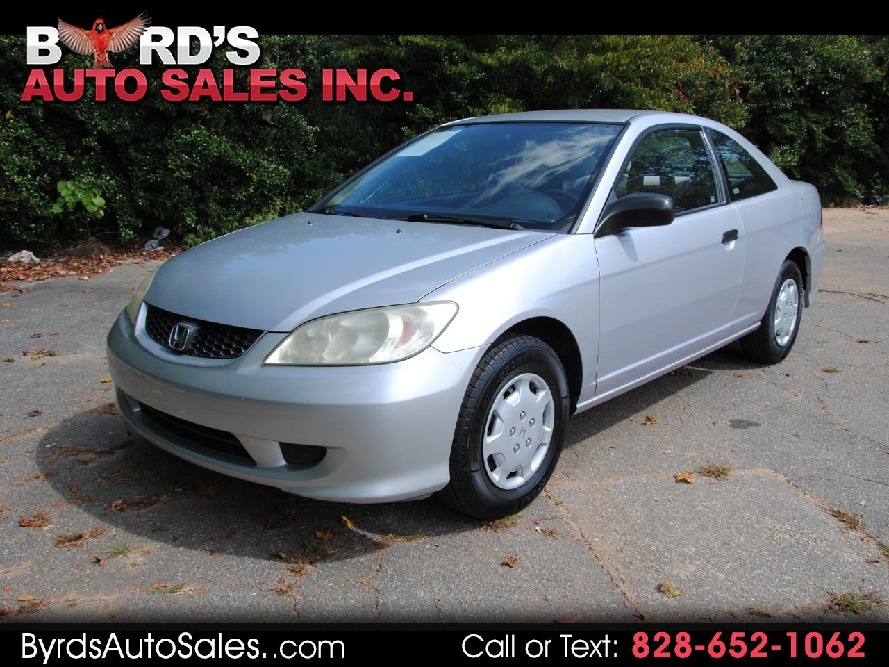 2004 Honda Civic 2dr Cpe VP Auto